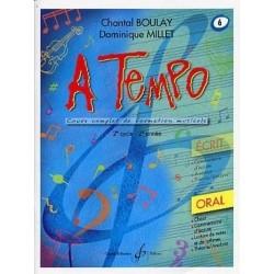 A Tempo Vol 6 Oral 2è cycle 2ère année