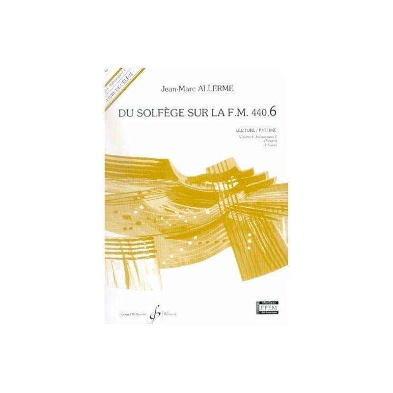 Du Solfège sur la FM 440.6 Lecture/Rythme Jean Marc Allerme Ed Billaudot Melody music caen