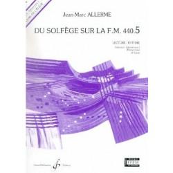 Du Solfège sur la FM 440.5 Lecture/Rythme Jean Marc Allerme Ed Billaudot Melody music caen