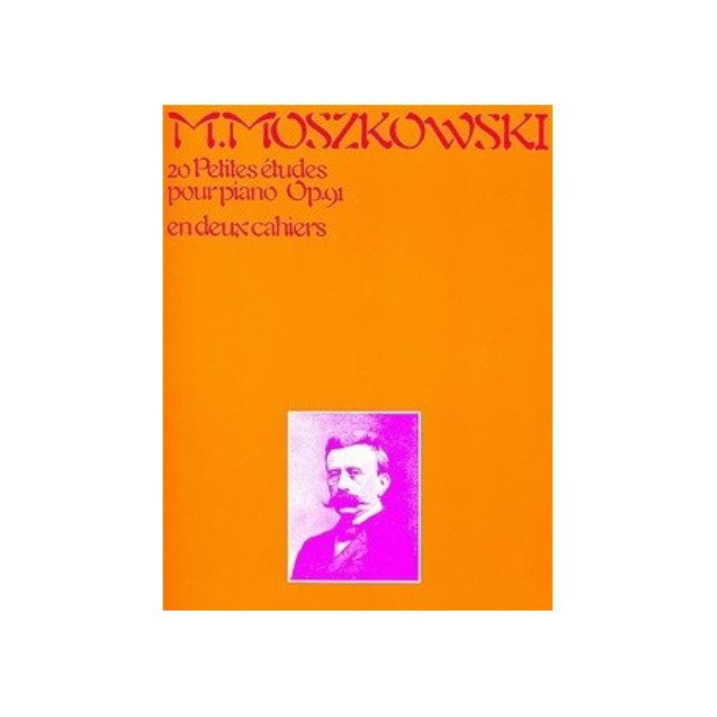 20 petites études pour piano op91 Moszkowski Melody music caen