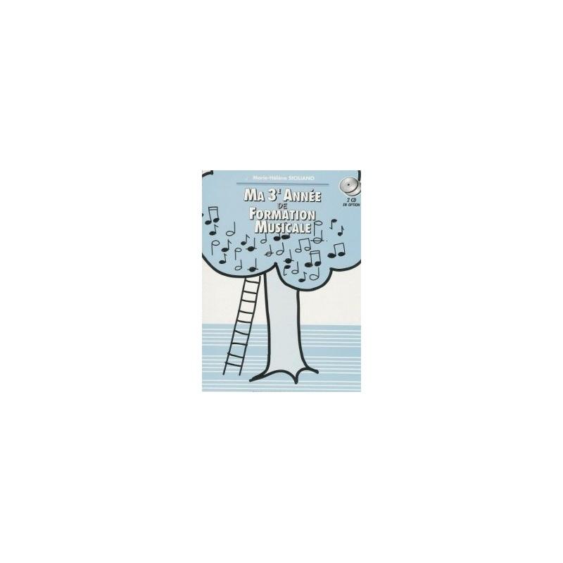 Ma 3è Année de Formation Musicale Marie Hélène SICILIANO Melody music caen