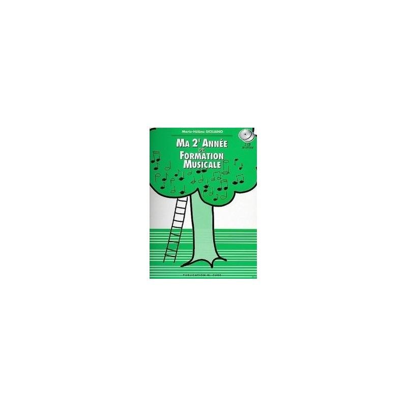 Ma 2è Année de Formation Musicale Marie Hélène SICILIANO Melody music caen