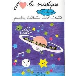 J aime la musique Vol2 CLEO Ed Henry Lemoine Melody music caen