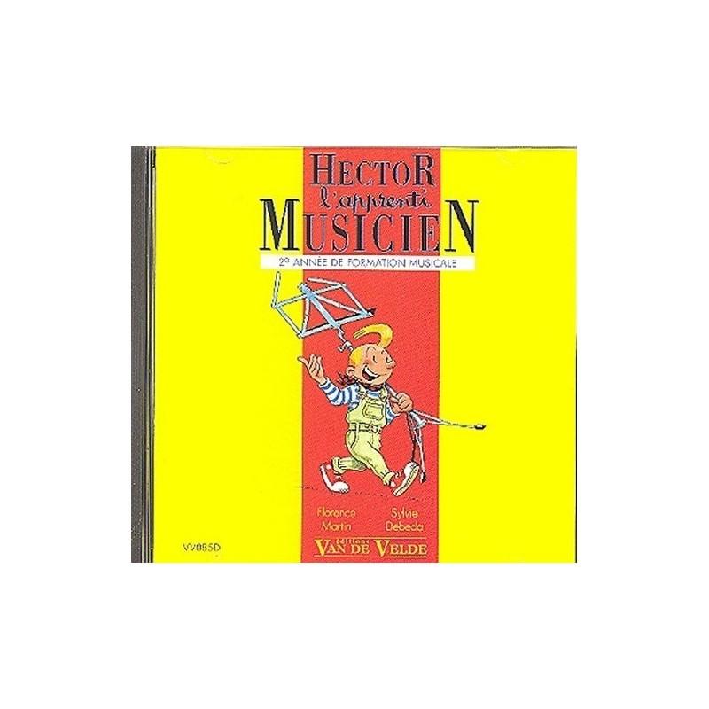 Hector l apprenti musicien Vol2 le CD Ed Van de Velde Melody music caen