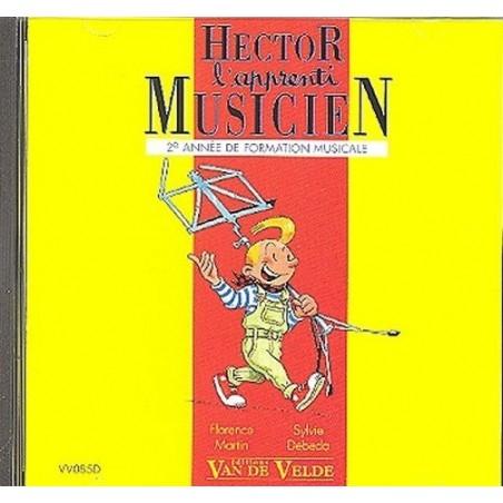 Hector l'apprenti musicien Vol. 2 Le CD Ed Van de Velde