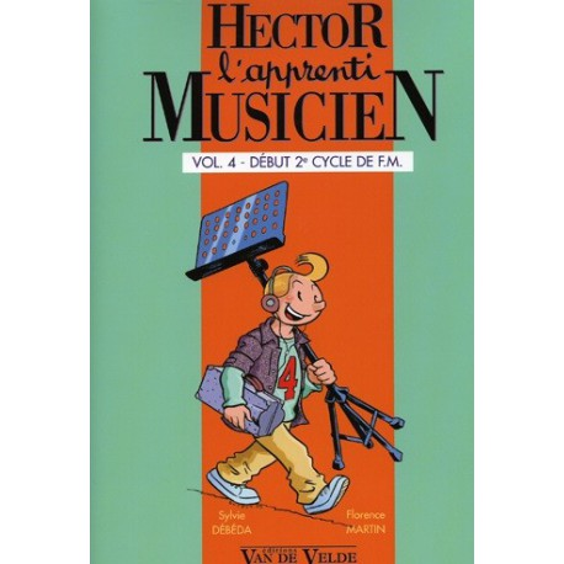 Hector l Apprenti Musicien Vol4 Ed Van de Velde Melody music caen
