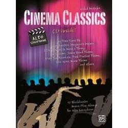 Cinema Classics pour SAXOPHONE ALTO + CD