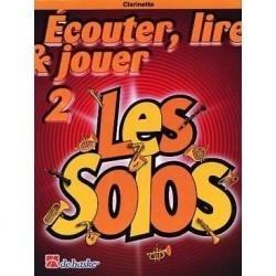 ecouter, lire et jouer Les Solos 2 pour clarinette