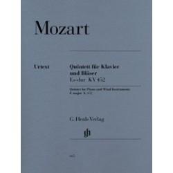 Quintett fur klavier und blaser Esdur KV452 Mozart