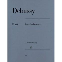 DEUX ARABESQUES Debussy HN380 Urtext