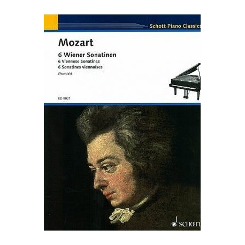 6 sonatines viennoises Mozart ED9021 Melody music caen