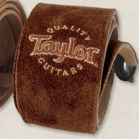 Taylor sangle cuire suede Chocolat