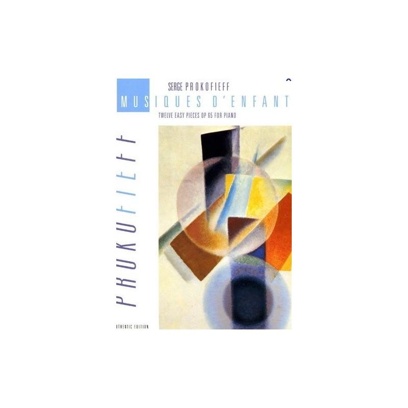 Musiques d enfants op65 Serge Prokofieff Melody music caen