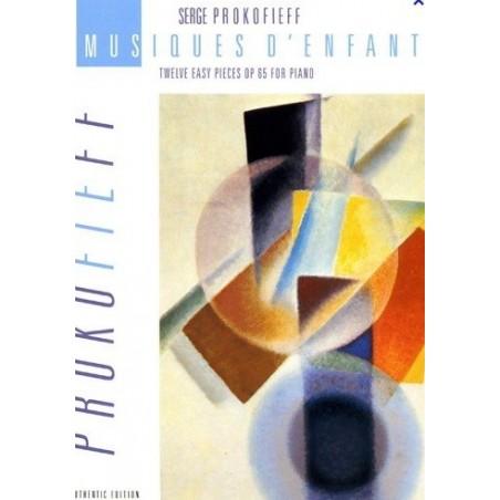 Musiques d'enfants op65 Serge Prokofieff