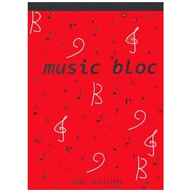 BLOC 12 PORTEES 100 PAGES 21x29.7 Melody music caen