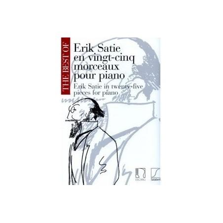 Erik Satie en 25 morceaux pour piano
