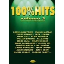 100% HITS Vol.2 en PVG, Ed. Carisch Mélody Music Caen