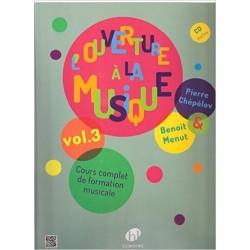 L'ouverture à la musique Volume 3