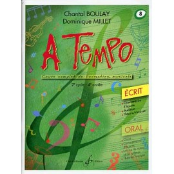 A Tempo Vol 8 Ecrit 2er cycle 4eme année