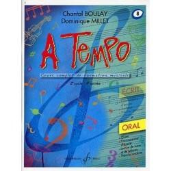 A Tempo Vol 8 Oral 2er cycle 4eme année
