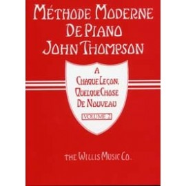 Méthode Moderne de Piano John Thompson Vol2 Editions Musicales Françaises