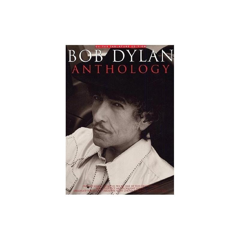 Bob Dylan Anthology Ed AMSCO Publications Melody music caen