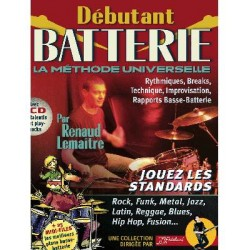 Debutant Batterie Rebillard + CD Melody music Caen