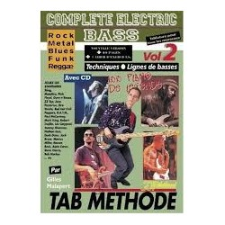 Complete Electric Bass Vol.2 avec CD Melody Music Caen
