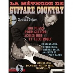 La Methode de Guitare Country avec CD