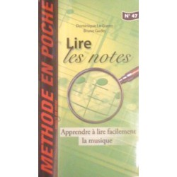 Méthode en Poche N°47 Lire les notes Ed Hit Diffusion Melody music caen