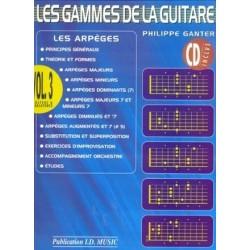 Les Gammes de la guitare Vol3 Philippe Canter Ed ID Music