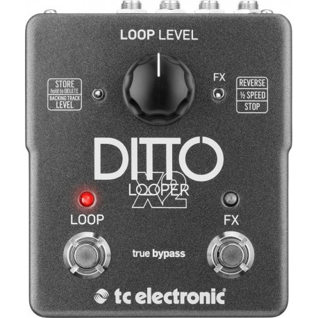 Tc Electronic Ditto Looper X2 Melody Music