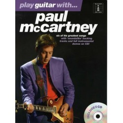 Play guitar with Paul Mc Cartney Ed Wise Publications Melody music caen