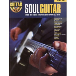 Play Along Soul Guitar Vol19 Ed Hal Leonard Melody music caen