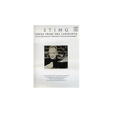 Sting Songs from the labyrinth Ed Wise Publications Melody music caen