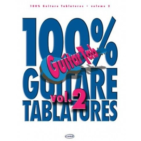 100% Guitare Tablature Vol2 Ed Carish Melody music caen