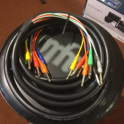 Yellow Cable Multi-paire 3 mètres mono