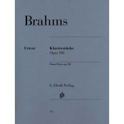Klavierstucke op118 Urtext Brahms HN122