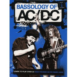 AC/DC Bassology Ed Amsco Publications Melody music caen