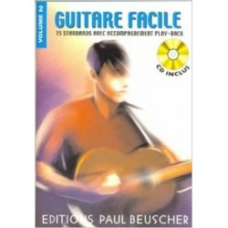 Guitare facile Vol2 Ed Paul Beuscher
