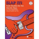 Slap it Funk Studies for the electric bass Ed Theodore Presser