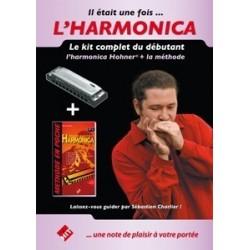 Méthode : Il était une fois... L'Harmonica (Méthode + Harmonica)