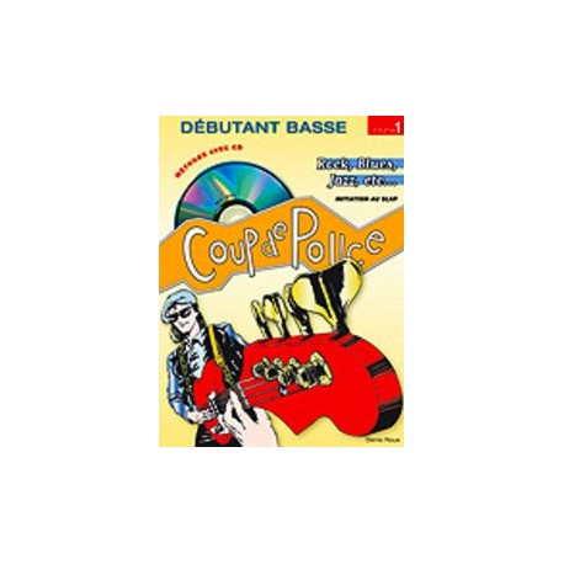 Débutant Basse Vol1 Rock, Blues, Jazz Ed Coup de Pouce Melody music caen