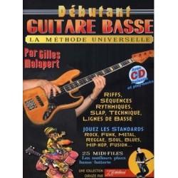 Débutant Guitare Basse Gilles Malapert Ed Rébillard Melody music caen