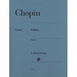 Etudes Chopin Urtext HN124