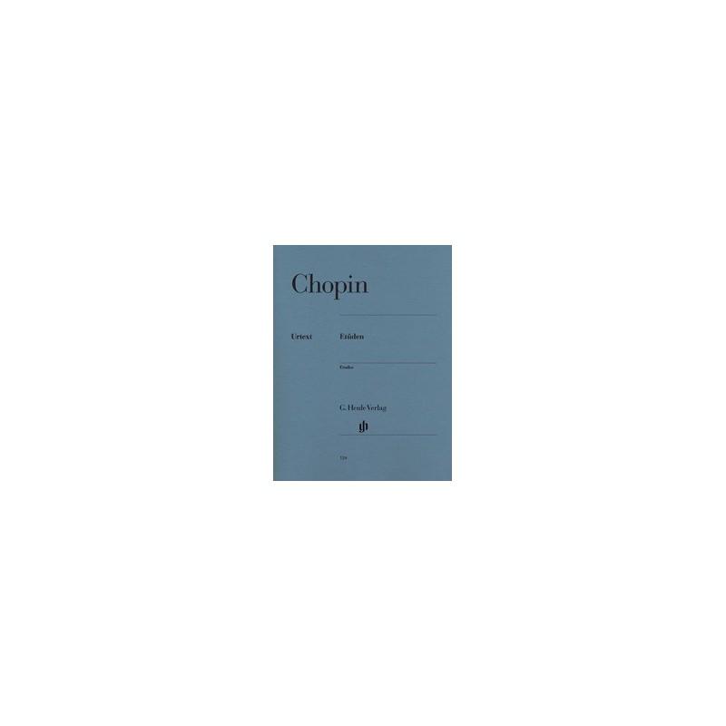 Etudes Chopin Urtext HN124 Melody music caen