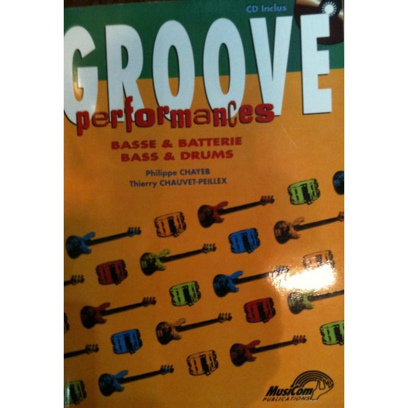 Groove Performances Basse et Batterie Ed Carish Melody music caen