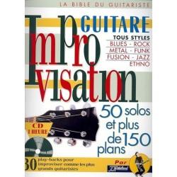Improvisation Guitare Tous Styles Ed Rébillard Melody music caen