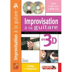 Improvisation à la guitare en 3D Emmanuel Devignac Ed Play Music