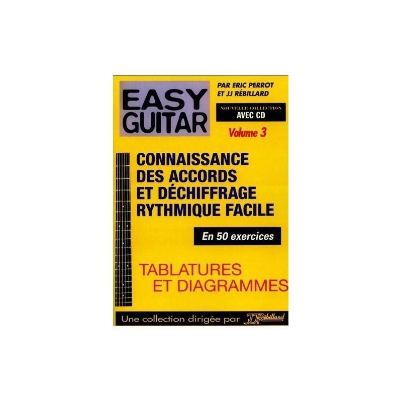 Easy Guitar Vol3 Eric Perrot Rébillard Ed Rébillard Melody music caen